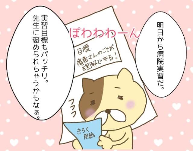 紙を持っている茶色の猫